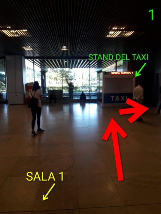Foto 1/7 para llegar al punto de encuentro desde la terminal T1 Sala 1