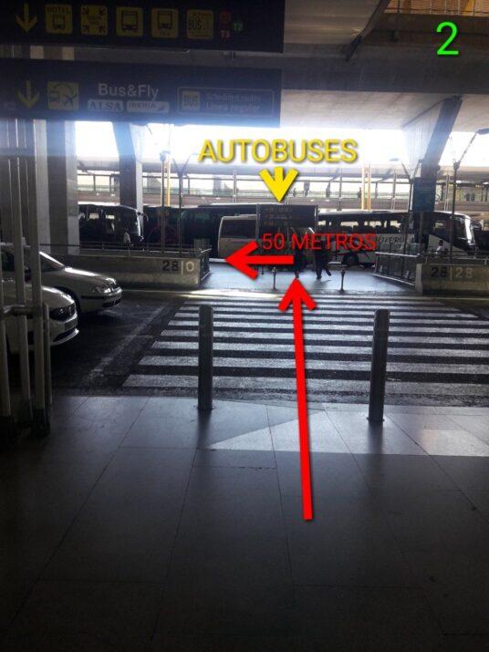 Punto de encuentro T4. Taxi Aeropuerto de Madrid